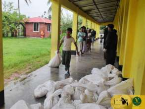 Ensuring Food for JAAGO students during Covid