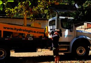 Well company Hyrdologica arrives