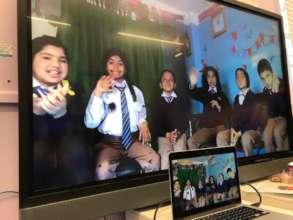 Sister School Programme Live Link-up