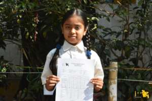 Cherishing The Girl's Success on Report Card Day