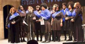 The Sisterhood at November's Sounds of Unsilence