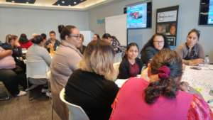 Group work at New Zealand CSA Training