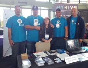 """Pam & Trust MYRIVR """"Rugby Team"""" at IVAT Summit"""