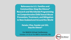 Training for MsECA Virtual Conference, Oct. 2020