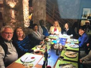 The Whole Training Gang at dinner_Cyprus_Jan. 2017