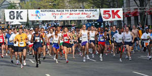 Join the Seventh Annual Race to Stop the Silence!