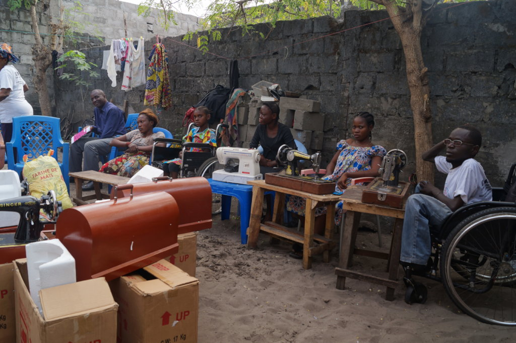 WORKSHOP PROJECT FOR DISABLED PEOPLE IN KINSHASA