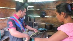 wood-saving stoves installation measurements