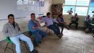 Staff meetings preparing workshops