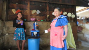 Installed water purifier