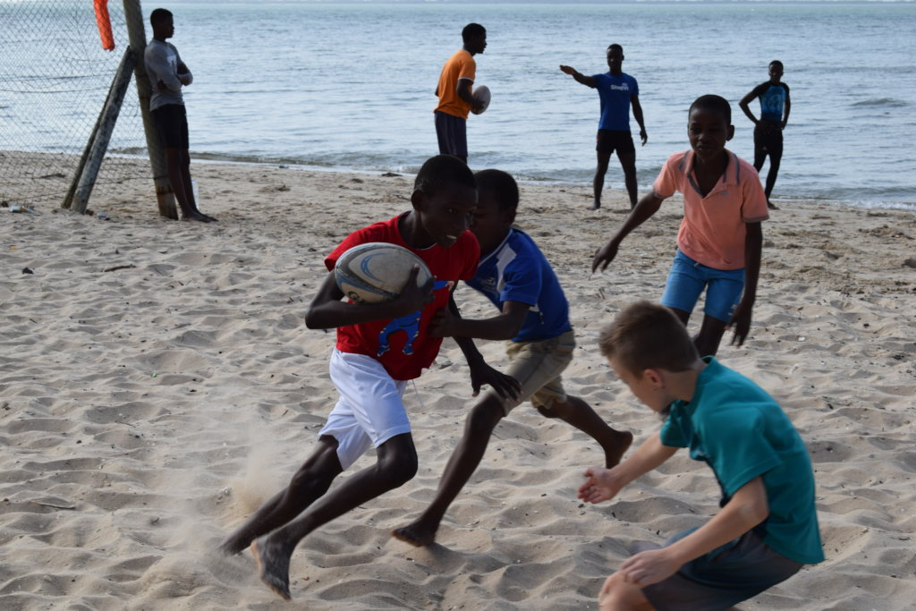 Complete Rugby Equipment for 2 Mozambique teams