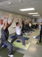 Yoga inside the Jacksonville Jail