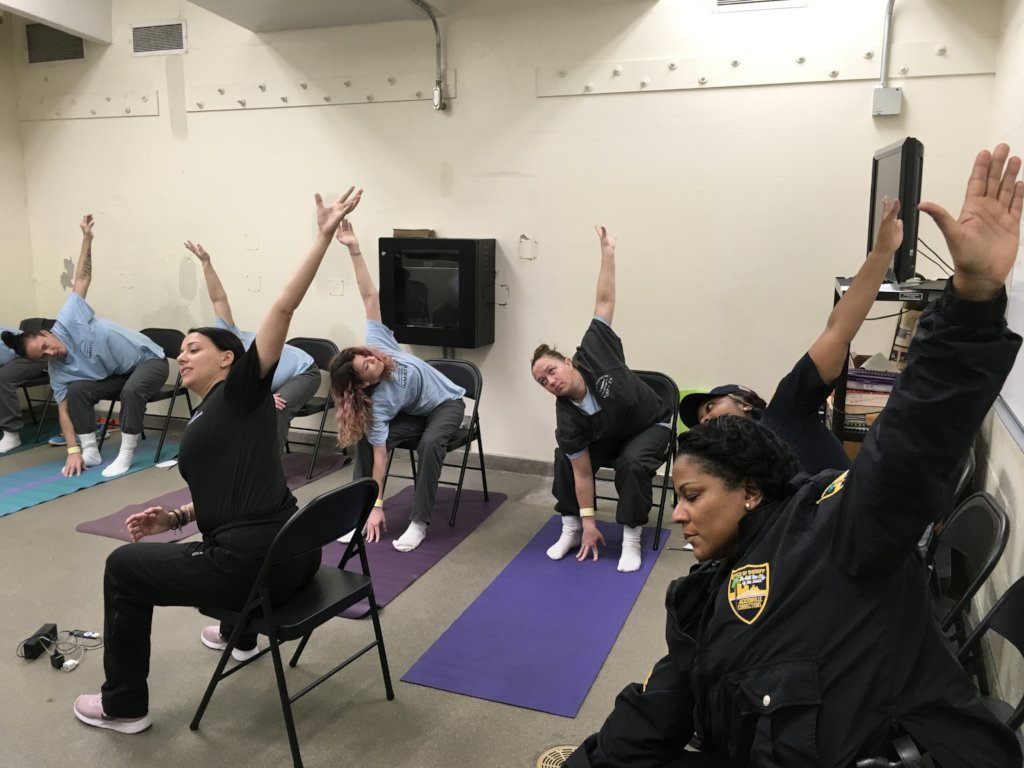 Trauma Informed Yoga for the Incarcerated