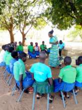 Girls undergoing Psychosocial sessions