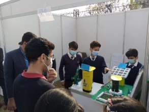 Our students in Islamabad Science Festival