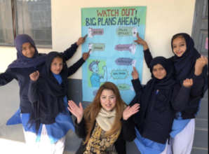 Rida's students have big plans for their future!