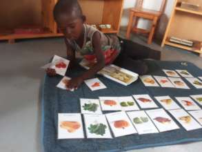 Learning the names of veggies