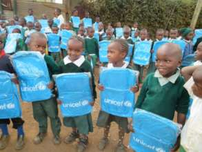 UNICEF Donates bags to Compassion CBO School