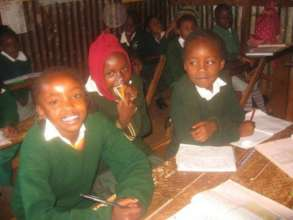 Pupils at Compassion CBO School