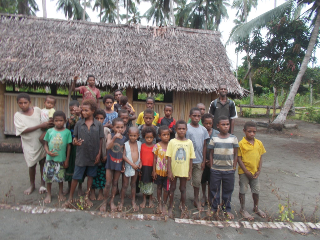 Constructing a school in rural Papua New Guinea