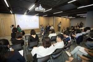 Nonprofit speakers sharing at November workshop