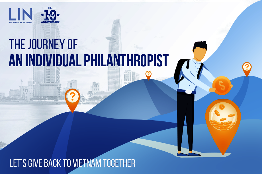 """The Journey of an Individual Philanthropist"""