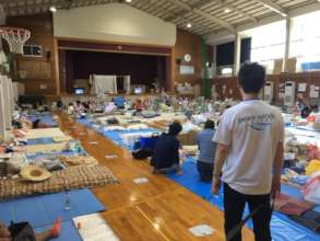 Peace Winds' evacuation center