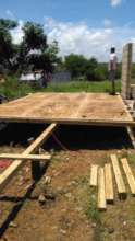 Building foundation for a new home