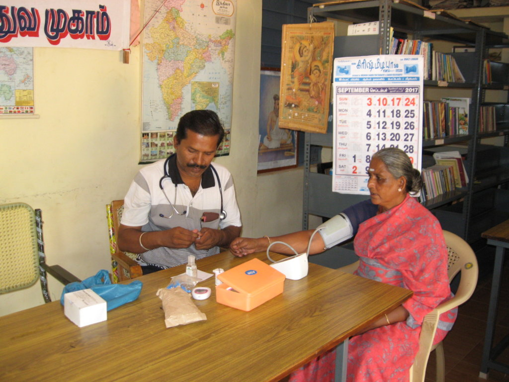 Free Medical Care for Poor Lepers in India
