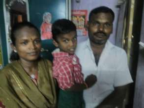 Happy parents of Yeshwanth