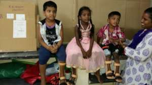 Left, right and both leg AFO fitted for children
