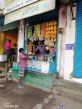 Sunil (name changed) buying provisions