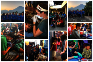 We saw 601 students this trip - amazing!