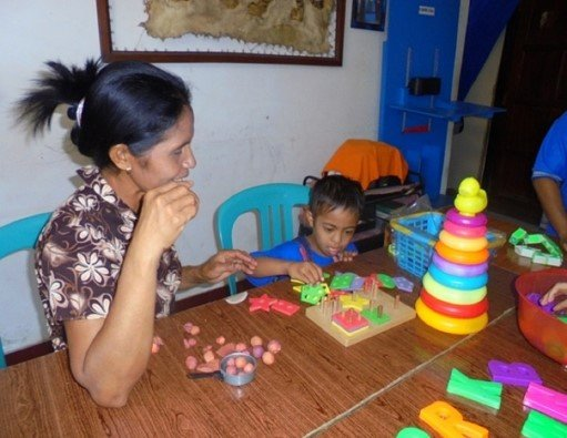 Equip School Health Unit in East Indonesia