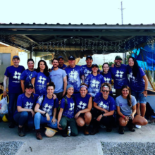 AHAH Management Team Volunteering in Yabucoa