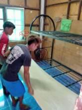 Fixing the dorm bunk beds