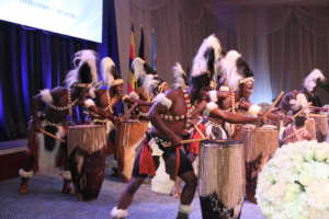 Rockies Performing with African drums