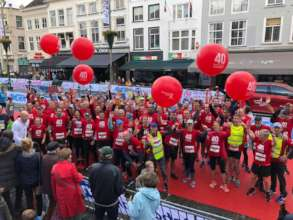 The runners of 40 van Breda