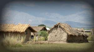 house in rural Tanzania