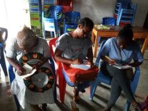Training with the Pamoja group