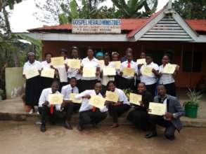 8 week Human and Legal Rights training graduates
