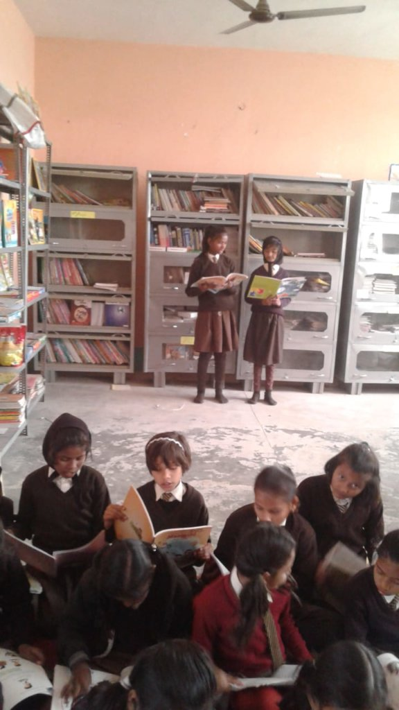Build Library for village school and community
