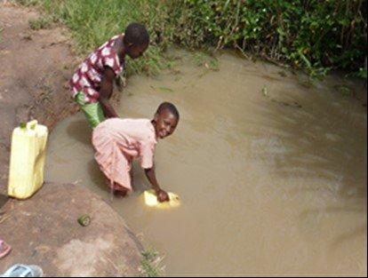 Ugandan children shouldn't die from drinking water