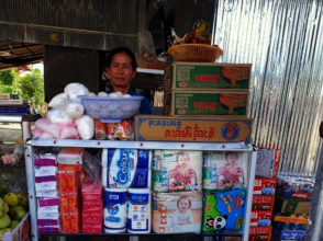 Income generation through a small family shop