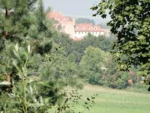 Teutonic Castle in Ryn
