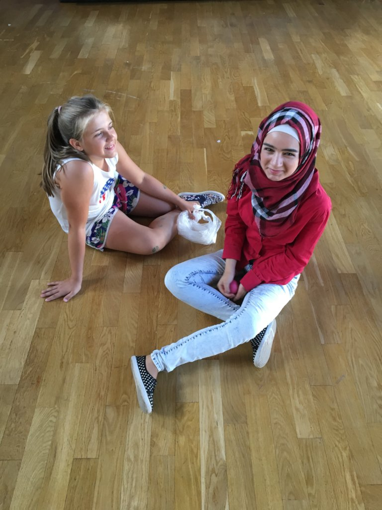 Peace-making residence for 50 refugee teenagers