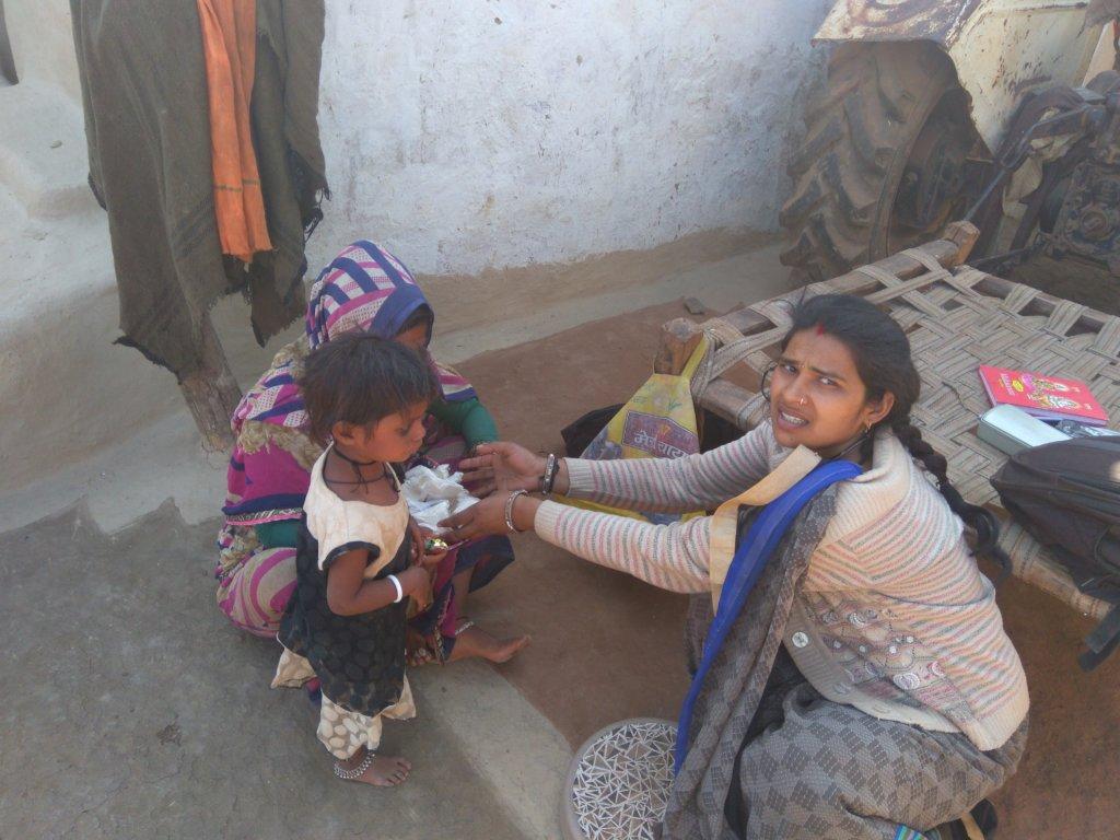 nutrition support for 200 malnourished children