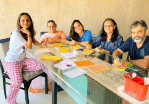 Writing letters becoming a family bonding activity