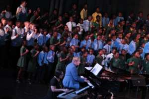 Mass Choir Performance at the Siyacula Festival