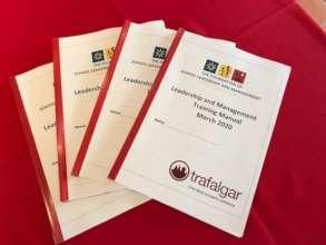 Trafalgar and MHS sponsored all printed material